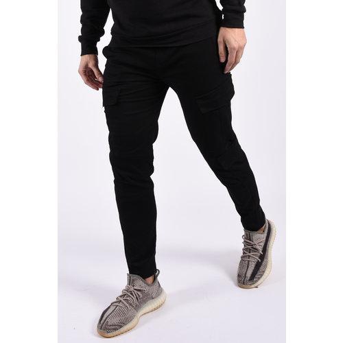 Y Cargo stretch pants Black