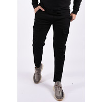 Y Cargo stretch pants Black