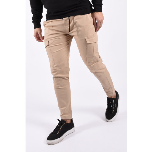 Y Cargo stretch pants Beige
