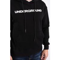 """Y Hoodie """"underground"""" Black"""