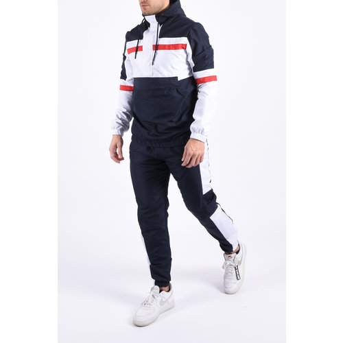 "Y Tracksuit ""ranger"" blue / white / red"