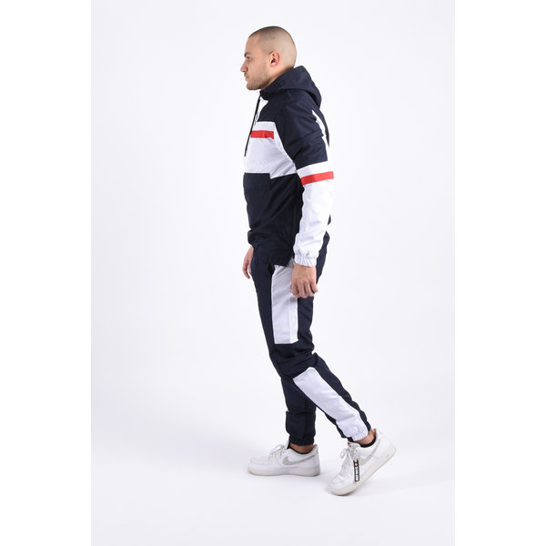 """Y Tracksuit """"ranger"""" blue / white / red"""