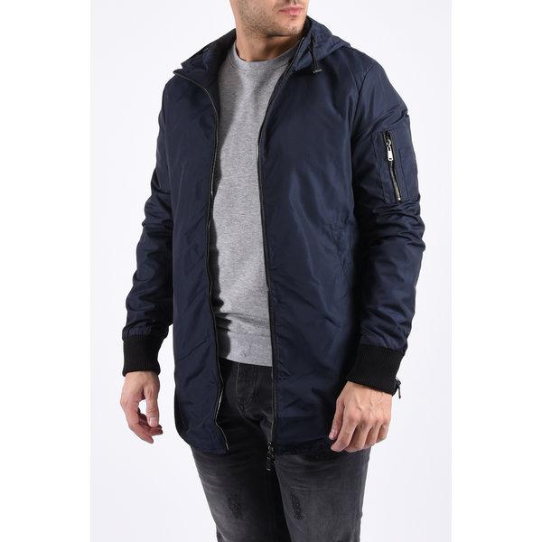 "Y Jacket long ""thomas"" dark blue"