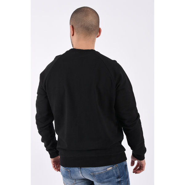 """Y Sweater """"icon568"""" Black"""