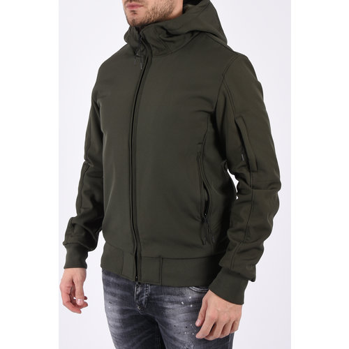 Y Soft Shell Jacket Green