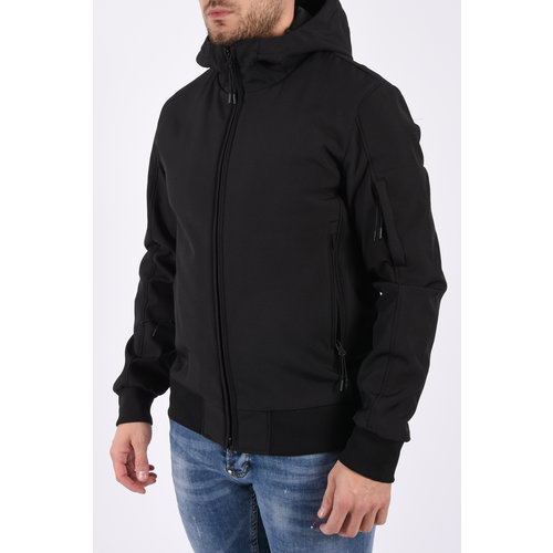 Y Soft Shell Jacket Black