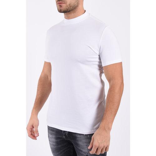 "Y T-shirt high neck ""rick"" White"