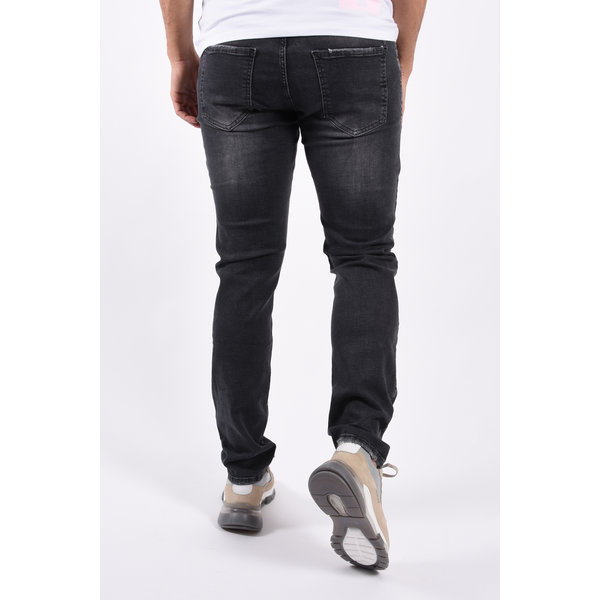 """Y Skinny fit stretch jeans """"blade"""" Grey"""
