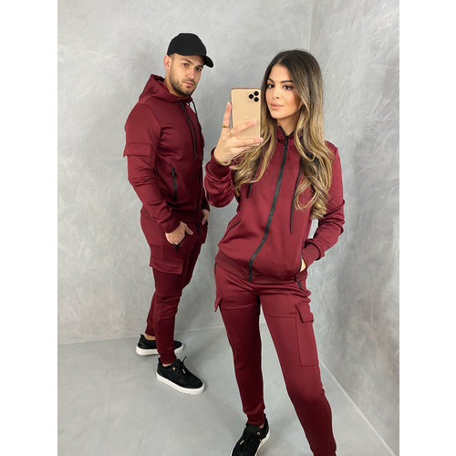 "Y Tracksuit ""river"" Bordeaux"