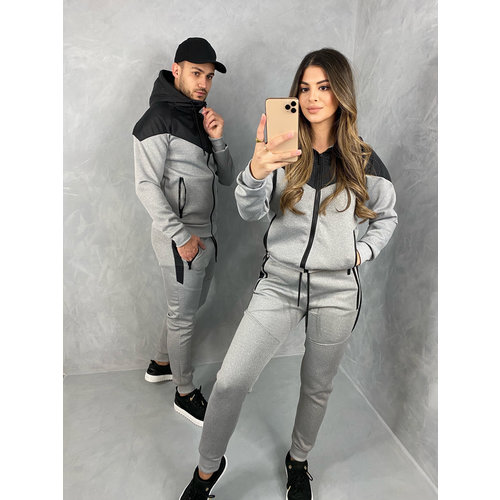 "Y Tracksuit ""campbell"" Grey / Black"