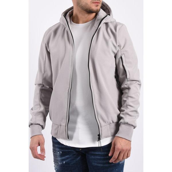 Y Soft Shell Jacket Light Grey