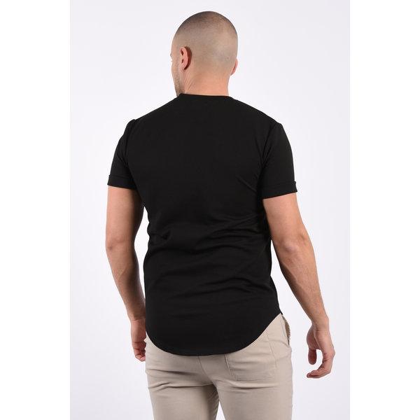 "Y T-Shirt ""DEN"" Black"