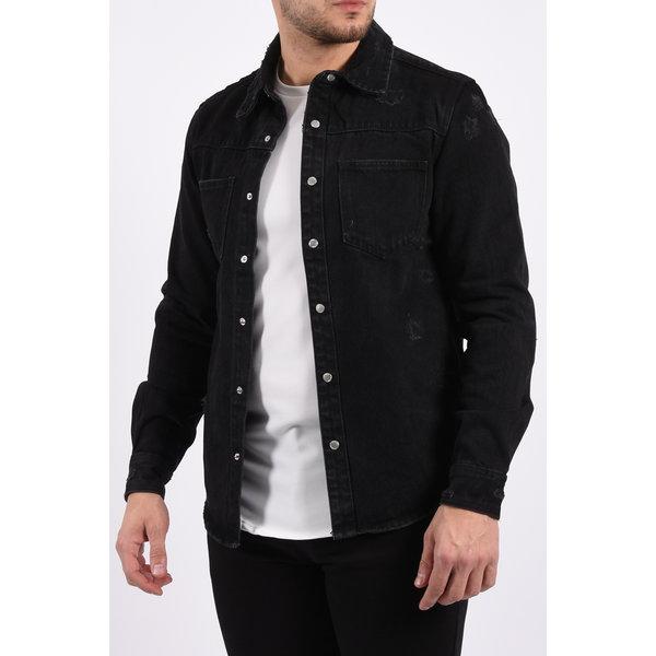 "Y Denim jacket ""mateo"" Black"