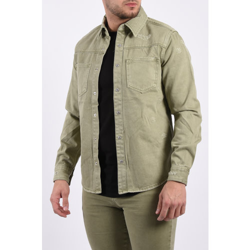 "Y Denim jacket ""mateo"" Green"