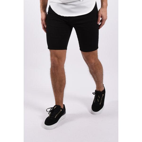 "Y Jeans stretch shorts  ""nolan"" Black"