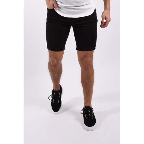 "Y Jeans stretch shorts  ""nolan"" Black"