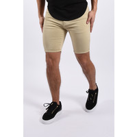 """Y Jeans stretch shorts  """"nolan"""" Beige"""