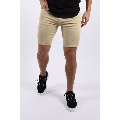 "Y Jeans stretch shorts  ""nolan"" Beige"