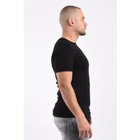 Y T-Shirt Basic Long Black