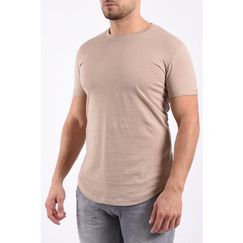 Y T-Shirt Basic Long Beige