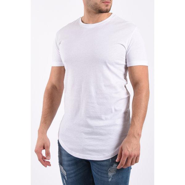 Y T-Shirt Basic Long White