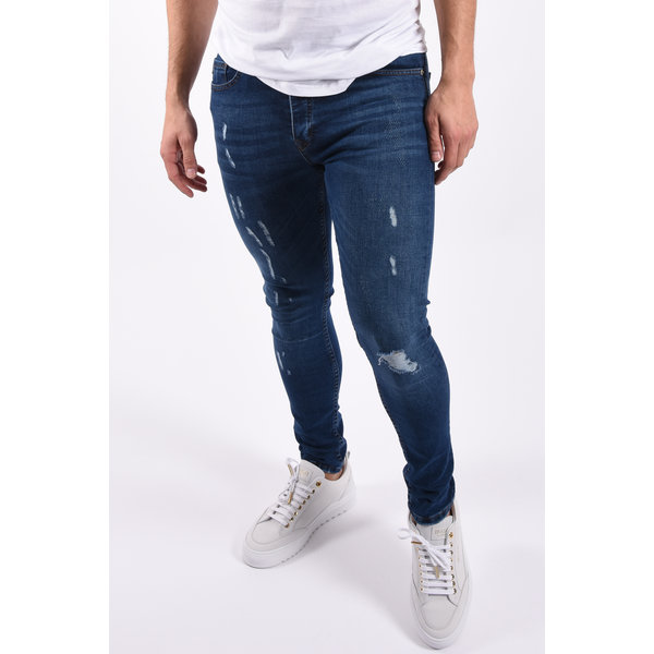 "Y Skinny fit stretch jeans ""hunter"" Dark Blue"