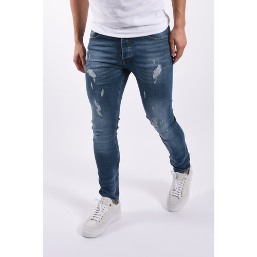 "Y Skinny fit stretch jeans 9041 ""hunter"" Blue"