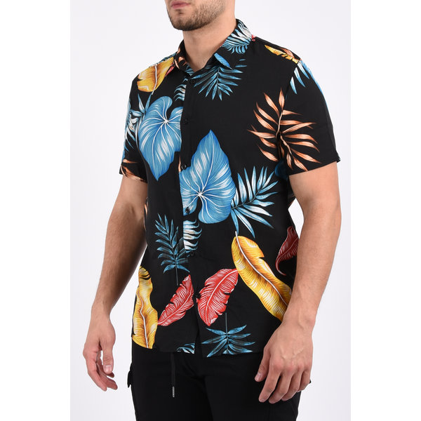 "Y Summer blouse ""jungle"" Black"