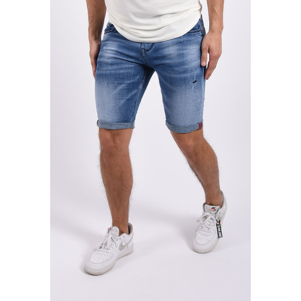 "Y Jeans stretch shorts ""dale"" Blue"