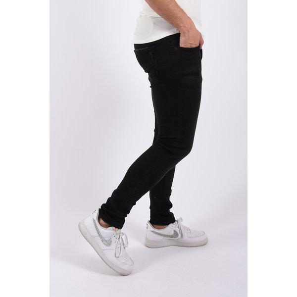 "Y Skinny fit stretch jeans ""vog"" Black"