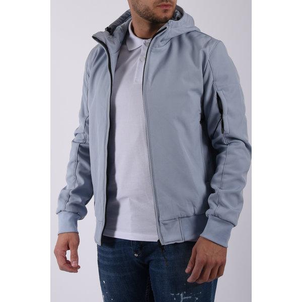 Y Soft Shell Jacket Light Blue
