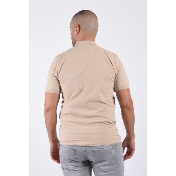 Y Polo basic stretch Beige