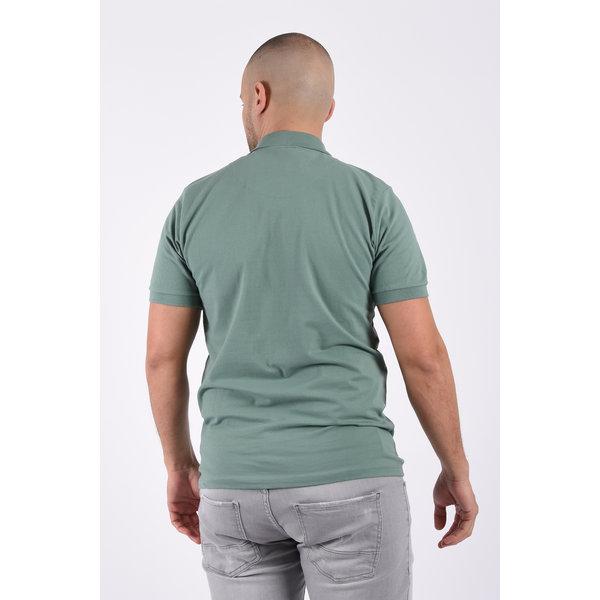 Y Polo basic stretch Green