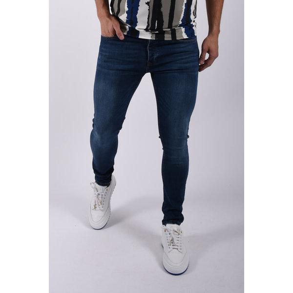 "Y Skinny fit stretch jeans ""hunter"" Basic Blue"