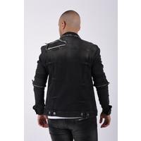 "Y Denim jacket ""blaine"" Dark Grey"