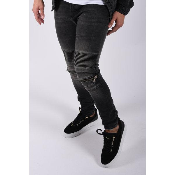 """Y Skinny fit stretch jeans """"blaine"""" Dark Grey"""