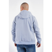 Y Hooded soft shell jacket Light Blue