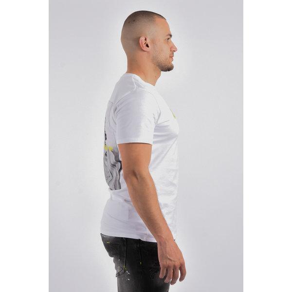 "Y T-Shirt ""makaveli"" White"