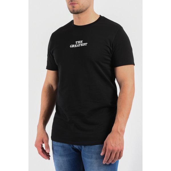 "Y T-Shirt ""the greatest"" Black"