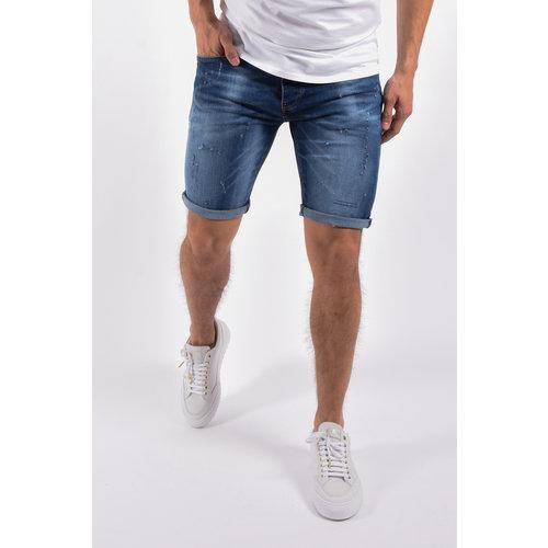 """Y Jeans stretch shorts """"troy"""" Dark Blue"""