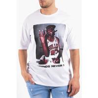 "Y T-shirt ""legends never die"" White"