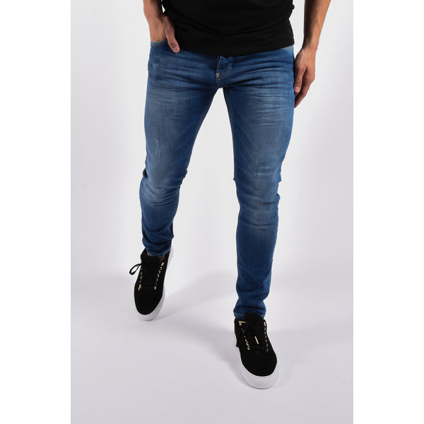 "Y Skinny fit stretch jeans ""Martin"" Blue"