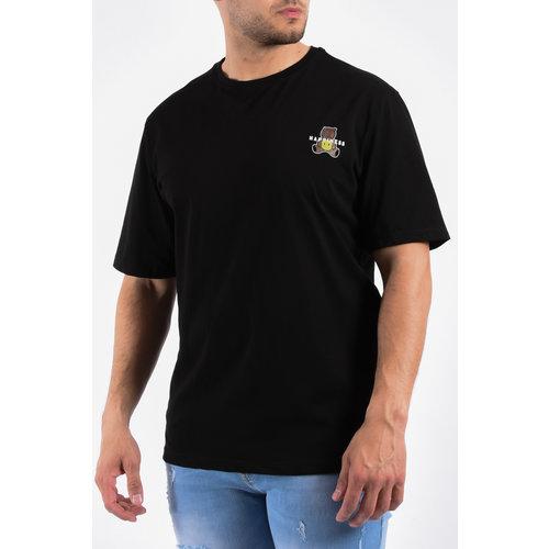 "Y T-shirt ""happines"" Black"