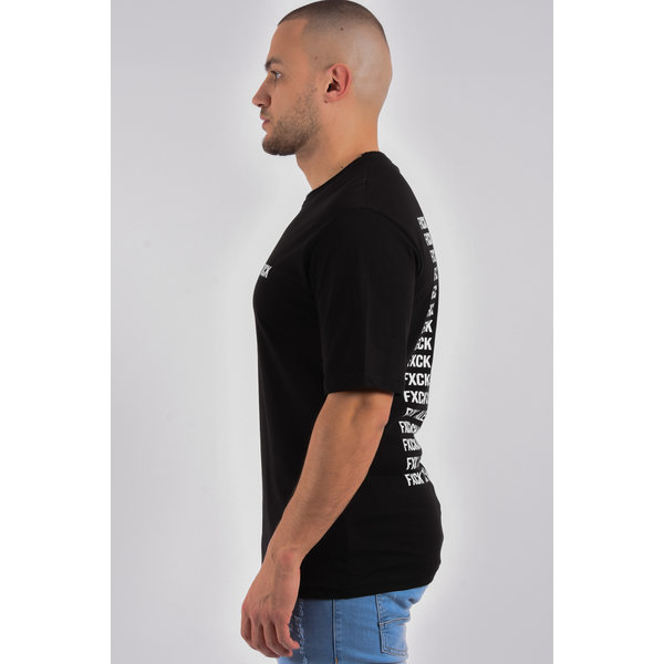 "Y T-Shirt ""fxck"" unisex Black"