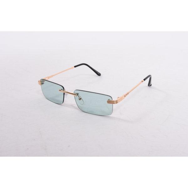 "Y Zonnebril / Sunglasses ""carter"" green / gold"