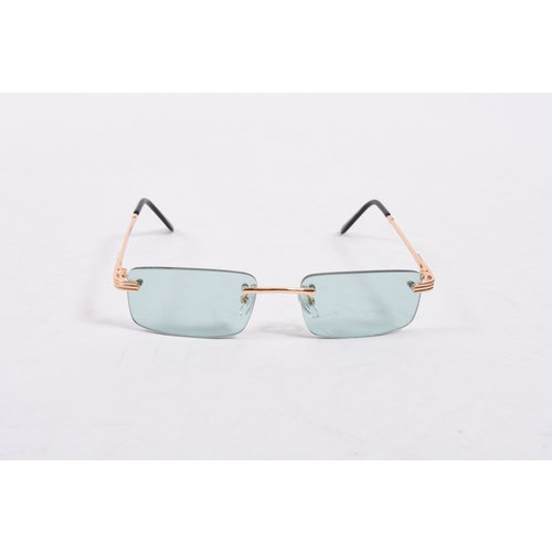 "Y Zonnebril / Sunglasses ""carter"" green / gold"