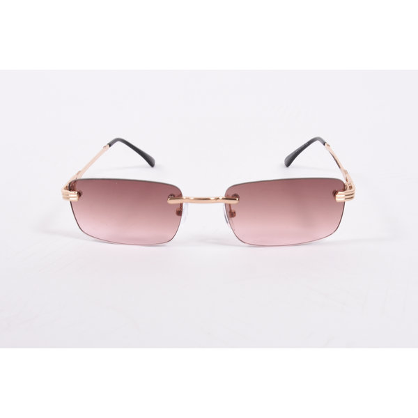 "Y Zonnebril / Sunglasses ""carter"" brown / gold"