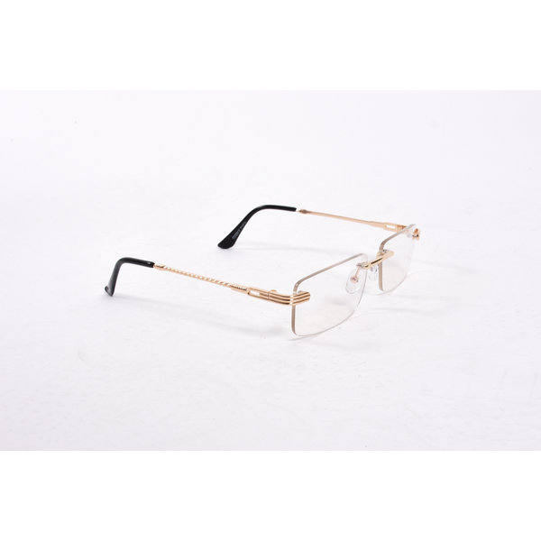"""Y Zonnebril / Sunglasses """"carter"""" see through gold"""