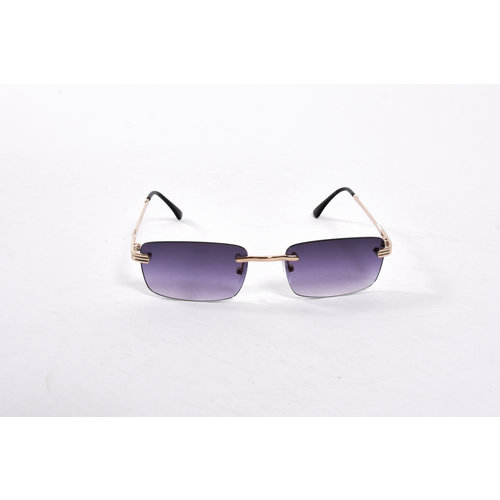 "Y Zonnebril / Sunglasses ""carter"" black / gold"