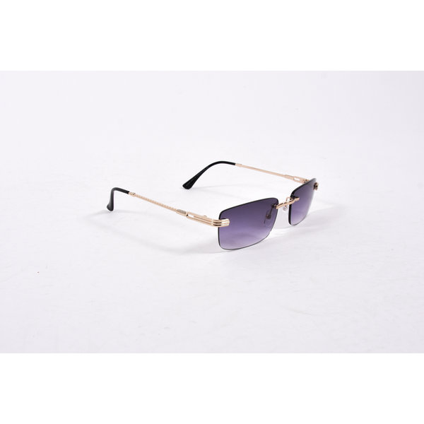 "Y Zonnebril / Sunglasses ""carter"" black / gold"